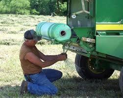 Malla para rollos de alfalfa