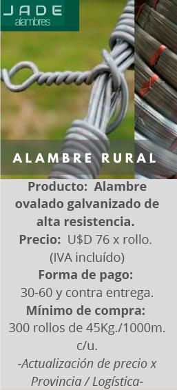 Alambre Rural de Alta Resistencia JADE